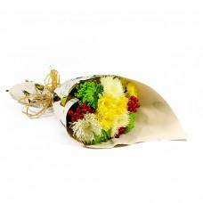 Свежест с хризантеми