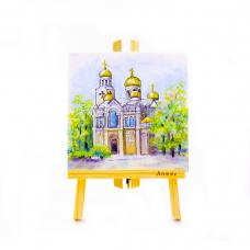 Картина с Катедралата от Варна
