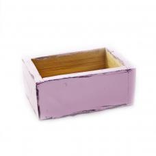 Розов сандък ръчно изработен